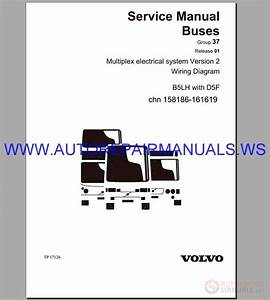 Volvo B5lh Trucks Wiring Diagram Service Manual Buses