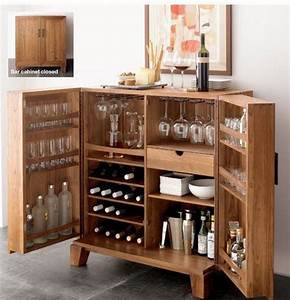 Miejsce Na Alkohol W Domu Barek Szafka Minibar 50