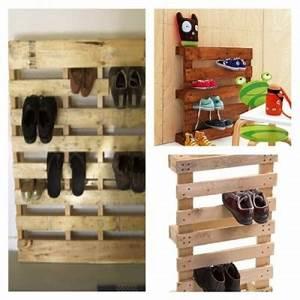 Acheter Meuble En Palette Bois : fabriquer meuble chaussure en palette ~ Premium-room.com Idées de Décoration
