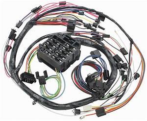 1968 Chevelle Dash  Instrument Panel Harness Console  Auto