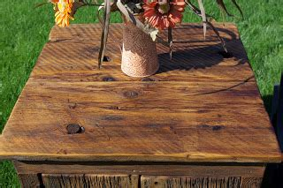 Coffee tables barnwood coffee table plans distressed wood end. Reclaimed Rustics: Barn Wood Coffee Table and Matching End Table