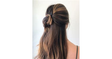 easy hairstyles with accessories popsugar beauty uk photo 25