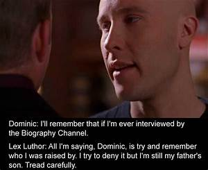 lex luthor smal... Favorite Smallville Quotes