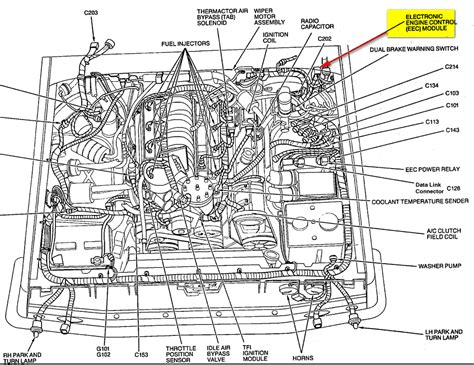 1989 Ford E40d Wiring Diagram by 1993 Ford E4od Transmission Diagram