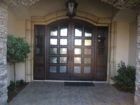 inviting double front doors for homes with polished hardwood double entry door including small