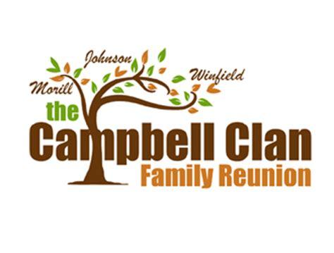 family reunion logo templates the cbell clan family reunion logo design 48hourslogo