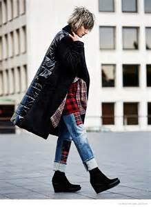 soekie gravenhorst wears tomboy style  glamour