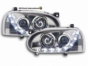 Vw Golf Mk3 Gti Tdi Vr6 Headlights With Daylight Running