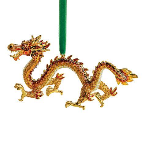 cloisonne dragon christmas ornament gump s
