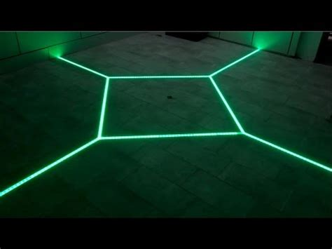 led floor tiling system diy   floor