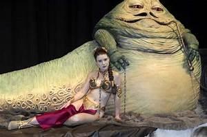 Jabba the Hutt with captive Princess Leia | ID# A073992 ...