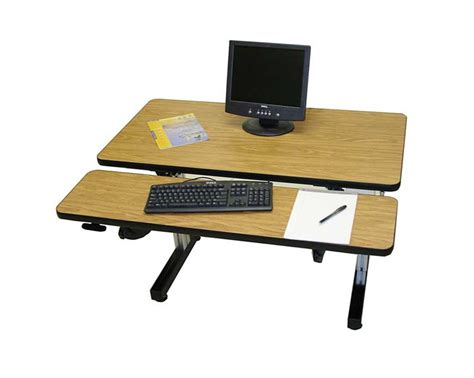 hand crank adjustable desk dual surface hand crank adjustable height desks