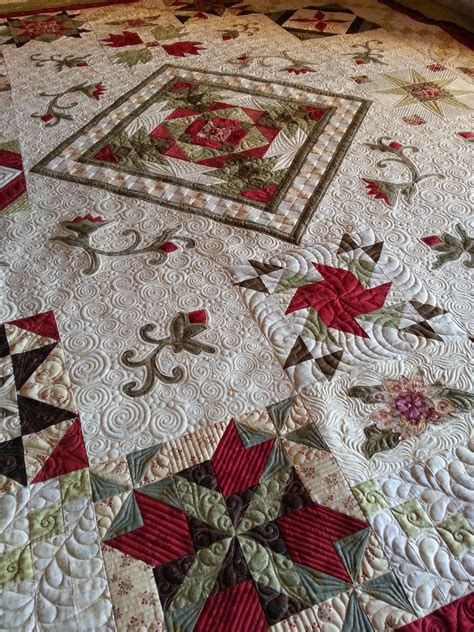 queen   court kelly cline quilting