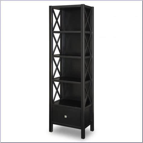 Narrow Black Bookcase by Narrow Black Metal Bookcas Bookcase Home Design Ideas