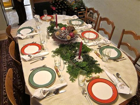 and green christmas table decorations holiday table ideas with oval dining table decorate with green and red ceramic plate and green