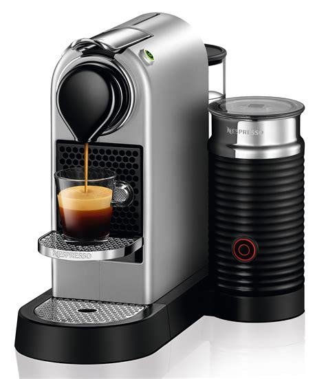 Nespresso Citiz Milk Test by Nespresso Kaffeemaschine Citiz Restyling