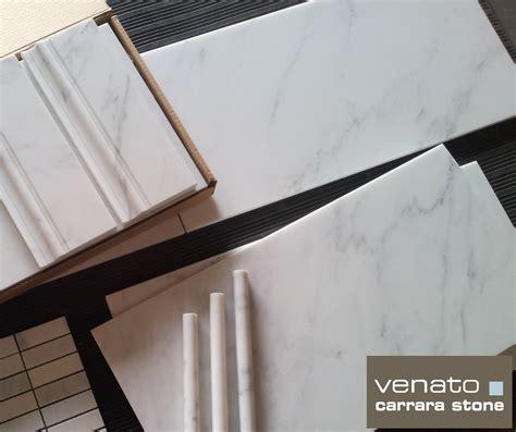 9 95sf carrara venato honed 12x24 subway marble tile