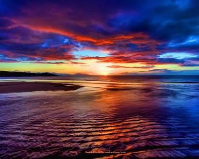 Sunset Beach Desktop Save Select Wallpapersafari Right