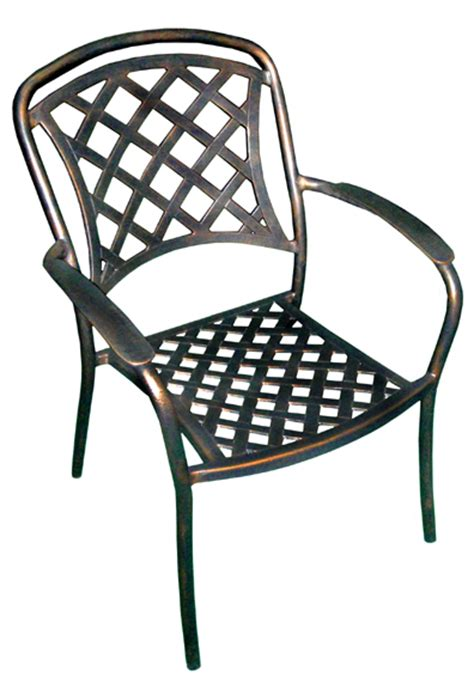 commercial outdoor wrought iron cast iron furniture