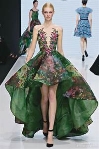 This Forest Inspired Gown From Michael Cinco Is Enchanting