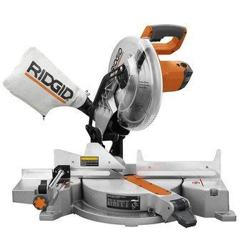 ridgid 7in tile saw with laser ridgid r4120 saw 12 inch compound miter with laser