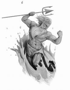 Poseidon - The Olympians Fan Art (12769219) - Fanpop