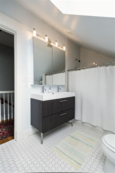 small double sink vanity bathroom transitional billy
