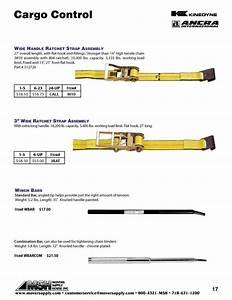 Ratchet Straps  U0026 Winch Bars