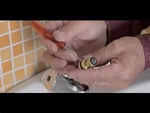 remplacer les joints d39un robinet youtube With comment changer le joint d un robinet