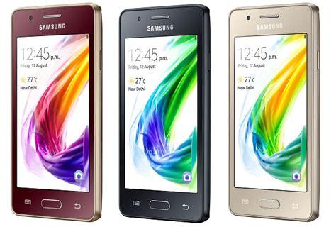 samsung z2 is the world s 4g tizen smartphone