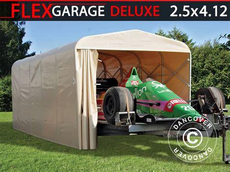 Box Tunnel Auto by Box Auto Tunnel Auto Eco 2 5x4 12x2 15m Beige