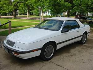 For Sale  1989 Lebaron Gtc Tii Convertible  1700