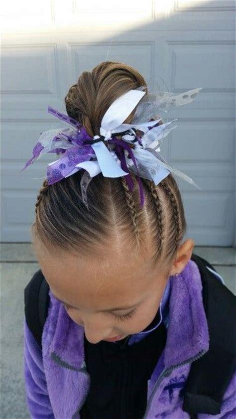 gymnastics    braids  pinterest
