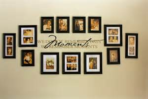 home interior frames family picture wall photo collages our family wall collage hints hacks