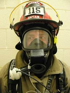 Front View Of The Modifications Made To The Msa Scba Facemask To