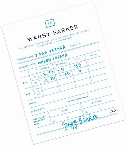 Prescription Warby Parker Check Eye Warbyparker Doctor