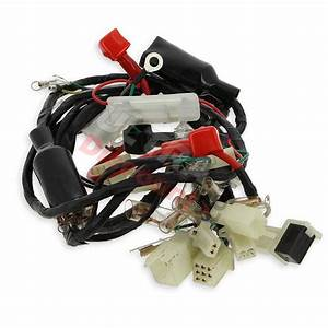 Wire Harness For Atv Bashan Quad 200cc  Bs200s
