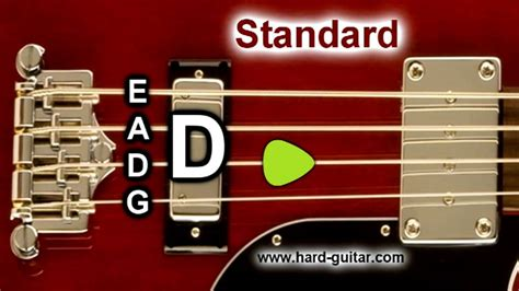 E Standard Tuning (e A D G) 4 Strings