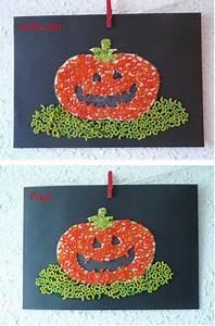 Bricolage Automne Primaire : citrouille en coquillettes halloween pinterest halloween bricolages halloween et ~ Dode.kayakingforconservation.com Idées de Décoration