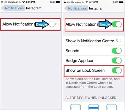 how to see notifications on iphone how to turn on instagram notification on iphone