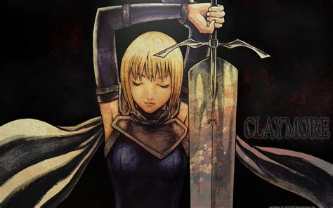 Claymore Anime Wallpaper - clare wallpaper claymore anime and mang 225 wallpaper