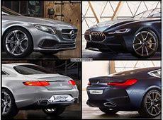 ShowcarVergleich BMW 8er vs Mercedes SKlasse Coupé