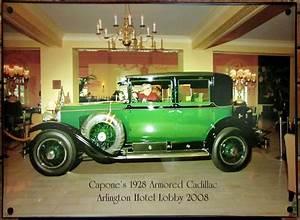 Al Capone's Cadillac at the Arlington Hotel in Arkansas ...