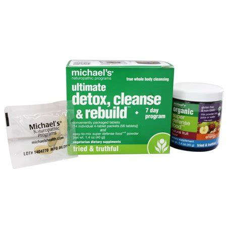 Michael's Naturopathic Programs Ultimate Detox Cleanse