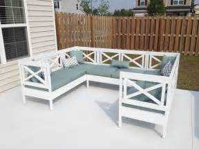white weatherly outdoor sectional diy projects