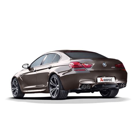 Bmw M6 Gran Coupe Modification by Akrapovic Evolution Exhaust Bmw M6 Gran Coupe F06 Clp