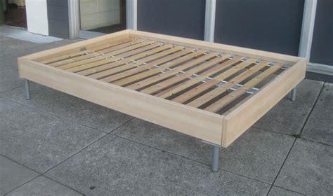 Full Platform Bed Frame