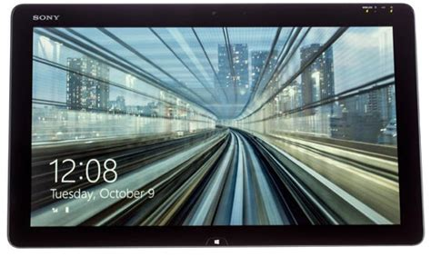 sony vaio tap  largest screen tablet pc xcitefunnet