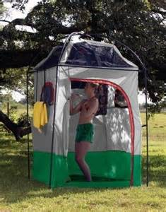 Outdoor Camping Shower Shelter