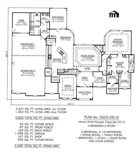 4 bedroom floor plans one 4 bedroom 4 bath 1 house plans house plans 4 bedroom